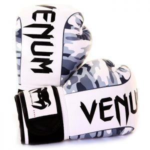 Venum Camo Boxing Gloves