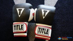 Title Gel Wold Heavy Bag gloves