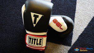 Title Gel Wold Heavy Bag gloves