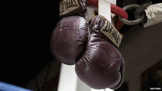 Mohammad Ali Boxing Gloves