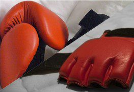 boxing gloves vs mma gloves