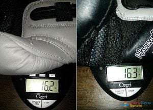 Hayabusa Tokushu Review weight photo