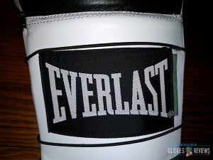 Everlast Powerlock gloves logo