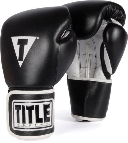 The Best Beginners Boxing Gloves - TITLE Boxing Pro Style Leather Training Gloves