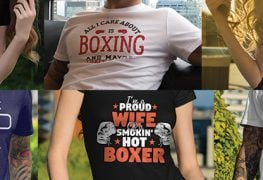 Gifts for Boxers & Boxing Fans - Tshirts