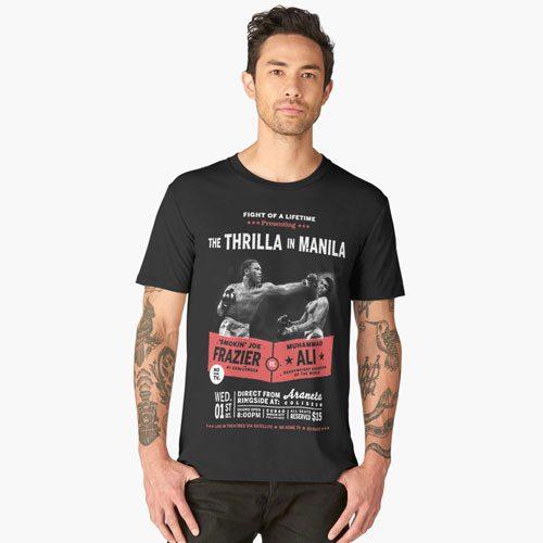 Ali vs Frazier Thrilla in Manila