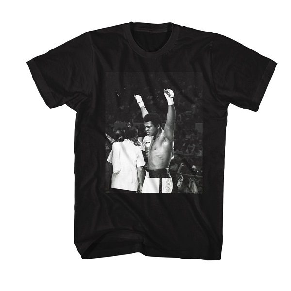 Muhammad Ali 60s Proudly Declaring I Am A Champion Adult T-Shirt Tee
