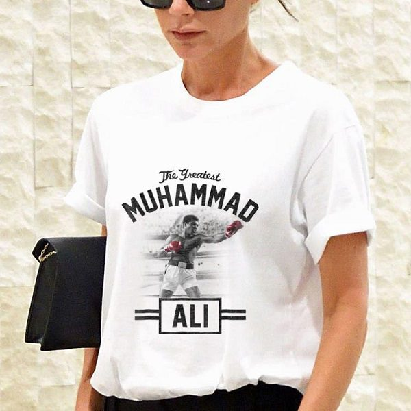 Muhammad Ali standing tall boxing T-shirt